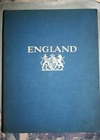 ENGLAND, PHOTOBOOK by E.Hoppe, 304 photogravures + map, 1926, RARE