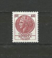 Italy 1976 Siracusana Lire 400 fluorescent paper sticker 1.6 cm MNH Italia