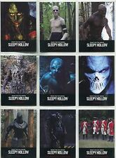 Sleepy Hollow Season 1 Complete Monsters Chase Card Set MN1-9