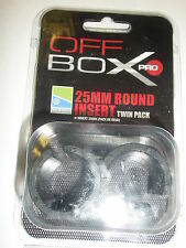 Preston Innovations Offbox Pro 25mm ROUND Spare Inserts 2pk Fishing tackle