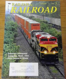 R&R Railfan & Railroad Magazine March 2009: St Louis Amshack, DRGW Price Canyon