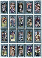 2013 Topps Gypsy Baseball Queen Mini Parallel You Pick the Card, Finish Your Set