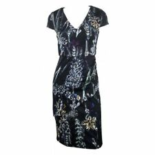 Regular Size Floral Wear to Work Stretch, Bodycon Dresses for Women