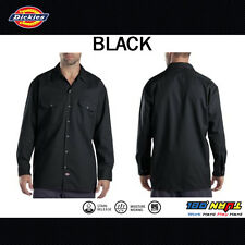 Dickies Work Shirts Men Long Sleeve Button Shirt 574 S - 4XLT Solid Color