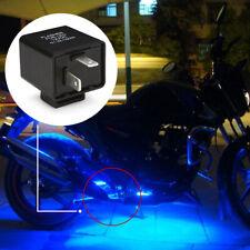 1PCS 2Pin Motorcycle Blinker Adjustable LED Flasher Relay Turn Signal Indicator