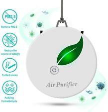 Mini Wearable Air Purifiers Portable Necklace Smoke Purifier to Remove Smoke Odo