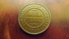 RARE 1925 PENNY UNC GRADE MS 62 TO MS64 CURRENT VALUE $10K TO $15K