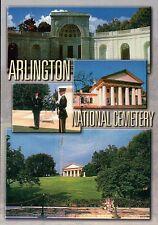 Arlington National Cemetery, Washington DC, John F. Kennedy Grave etc - Postcard