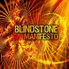BLINDSTONE: MANIFESTO CD (KILLER HEAVY GUITAR POWER TRIO ROCKER)