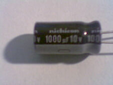 1000uf 10v Nichicon HM  8mm x 16mm 105C MBD Capacitor