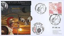 """VA217L-T2 FDC KOUROU """"ARIANE 5 Rocket - Flight 217 / ATHENA FIDUS & ABS-2"""" 2014"""