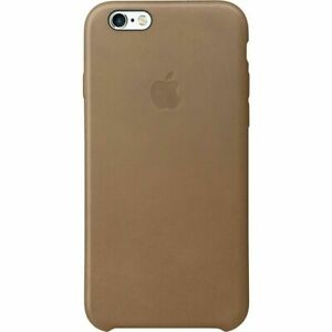 Official APPLE iPhone 6 / iPhone 6s Leather Back Case | Brown |