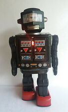 Horikawa SH Rotate-o-matic Super Astronaut battery vintage toy, 1960's Japan