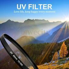 52-82mm UV Ultra-Violet Filter Lens Protector For Camera Canon DSLR/SLR/DC/DV
