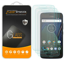 "3X Supershieldz Motorola ""Moto G5 Plus"" Tempered Glass Screen Protector Saver"