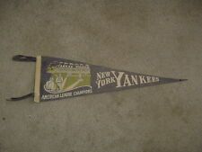1930's New York Yankees Champions Baseball Team Pennant Mid Size TOUGH!