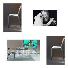 2 STARCK® Slick Slick Dining Chairs (xO) Grau | NEU | 256,00€ | Philippe Starck