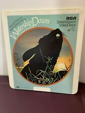 Watership Down CED Videodisc Rare