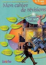 Mon Cahier de Révision 4 / 5 Ans - Moyenne Section - Contes et Fables