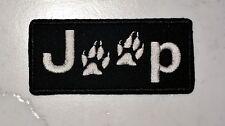 J@@p Wolf Trail PATCH Aufnäher Parche brodé patche toppa jeep wrangler cherokee