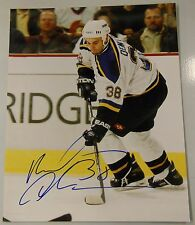 "PAVOL DEMITRA Signed ST LOUIS BLUES PHOTO 8X10""!! MAKE OFFER! 3000980"