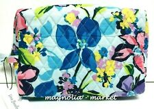 Vera Bradley Marian Floral Large Cosmetic Travel Case Bag