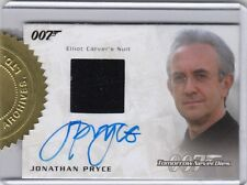 JAMES BOND ARCHIVES 2016 SPECTRE EDITION JONATHAN PRYCE (CARVER) AUTO RELIC (1)
