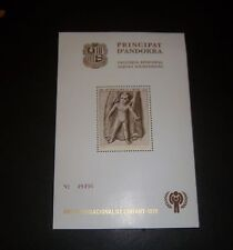 ANDORRA [SPANISH] SEMI-OFFICIAL SOUVENIR SEET MNH YEAR OF THE CHILD