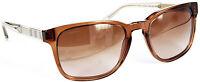 BURBERRY Damen Sonnenbrille  B4222 3564/13 .55mm braun transparent //238(43)