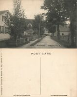 JEFFERSONVILLE N.Y. MILL STREET ANTIQUE POSTCARD