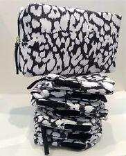 Lot of 20 x Estee Lauder White & Black Cosmetic Makeup Bag NEW