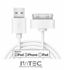 Old Type USB Charger Lead for iPhone iPad iPod Nano Classic - High Quality
