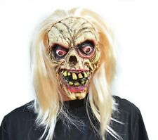 Scary Halloween Zombie Mask Walking Dead Decaying Skeleton Witch Party Mask