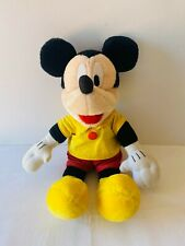 MICKEY MOUSE Walt Disney Plush Soft Stuffed Toy Doll Tomy 80s Cartoon 40cm