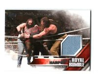 WWE Luke Harper 2016 Then Now Forever Royal Rumble Mat Relic Card SN 334 / 399