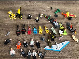 Mega Bloks Power Rangers And Aliens Minifigures! Old Style Mega Bloks Lot!!