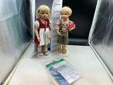 Gabriele Müller Porzellan Puppen 30 cm. Top Zustand