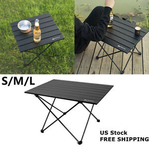 Portable Outdoor Folding Table Lightweight Camping Picnic Desk with Bag
