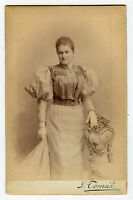 Cabinet Photo-Prague, Austria - HUCKLE Family Lady - Fancy Dress (Grandmother)
