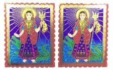 2 X Pegatina Adhesiva Lámina tradicional khodiyar Maa – Pegatina religiosa hindú