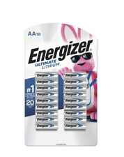 ENERGIZER  ULTIMATE LITHIUM AA 18 PACK.