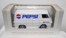 PEPSI COLA SODA 1964 DODGE PANEL DELIVERY VAN BY SPEC-CAST DIECAST BANK #91501