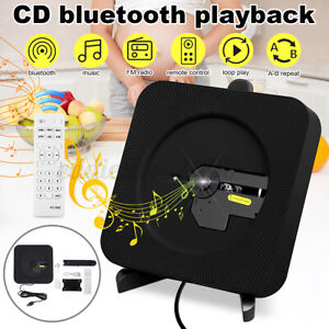 Portable bluetooth Learning Machine CD Player HD Speaker With Remote Control