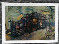 Tiefdruckrotationsmaschine der Illustrirten Zeitung FARBDRUCK von 1918