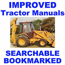 IH Case 580K Phase 3 III Tractor Owner Instruction Operator Manual - IMPROVED CD