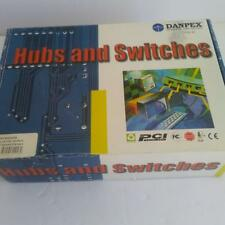 Danpex Hubs Switches 10/100 Dual Speed PC Network