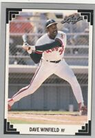 FREE SHIPPING-MINT-1991 LEAF #499 DAVE WINFIELD ANGELS