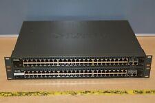 Lot 2x D-Link DES-1250G Switch 48 Ports