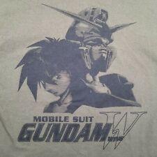Bandai Gundam Wing Mobile Suit Anime T-Shirt Mens Medium