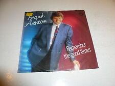 """Frank Ashton-recordar los buenos tiempos - 1986 holandés 2-track 7"""" Juke Box único"""